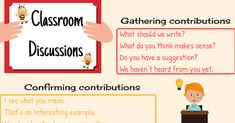 Useful English phrases that students can use in class for asking questions and group discussions...