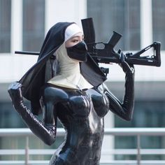 kb (@SC0RPMERCURY) / Twitter Latex Cosplay, Fantasy Girl, Character Inspiration, Character Art, Hot Nun, Photographie Indie, Cyberpunk Girl, Warrior Girl, Latex Fashion