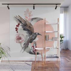 7 Stunning DIY Mural Design Ideas # Paint # Ideas – All For Decoration Mural Wall Art, Diy Wall Art, Home Wall Art, Diy Wall Painting, Painted Wall Art, Mural Painting, Faux Painting, Diy Wand, Room Decor