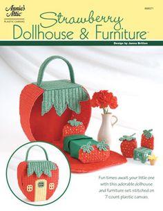 plastic canvas dollhouse pattern