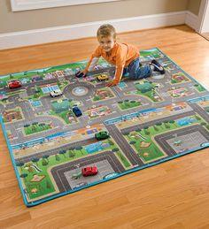 Reversible Roadway Play Mat