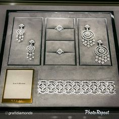 "By @Chitra Aiyer Aiyer Graff Diamonds ""Graff Icon Collection: The 'Icon' motif, synonymous with the House of Graff is brought to life in magnificent diamond form"" via @PhotoRepost_app"