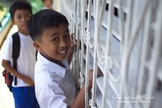 This is one of the children who will benefit from the expansion project at the Dona Justa Guido Memorial School just outside Manila, Philippines.