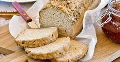 Πανεύκολο ψωμί με μπύρα, κρούστα τυριού και ηλιόσπορο σε 10 λ