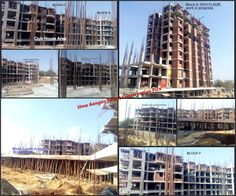 Take a look at Collage View of latest Construction Pics of Uma Aangan. Lovely 'Uma Aangan' in the making!