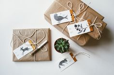 gift tags by oanabefort, via Flickr