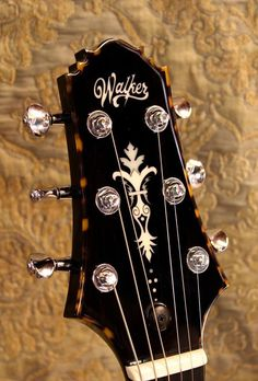Headstock Walker electric guitar