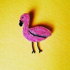 Flamingo  severler💜 boncuk  işlemeli  flamingo  broşumuz  kıyafetlerinize  özel  bir  hava  katıcak  Fiyat:25tl  #broş #flamingo #tasarla #keçe #keçebroş #karakalem #karalama #artbookstagram #art🎨#sketchbook #MorArt #çiziktir #beatiful