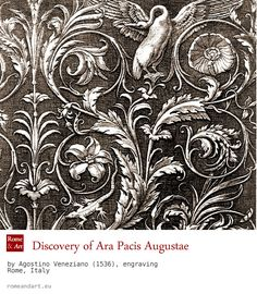 The discovery of the Ara Pacis Augustae ... (en) http://www.romeandart.eu/en/art-ara-pacis.html UPDATE VIRTUAL TOUR: http://tourvirtuale.arapacis.it/eng/index.html (ita) www.romeandart.eu/it/arte-ara-pacis.html AGGIORNATO