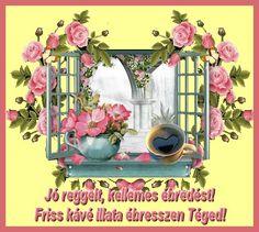 Malm, Good Morning, Floral Wreath, Wreaths, Painting, Bom Dia, Buen Dia, Bonjour, Door Wreaths