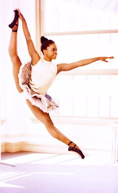 Michaela Deprince- look this girl up, she's a true inspiration. yet her story is so sad.