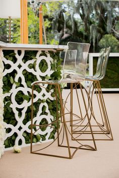 """custom """"living"""" bars will be hot next year. """"Freshly cut foliage fronted with a laser-cut painted wood veneer or stained latticework covered in climbing clematis are just a few snap-worthy ways of transforming the bar experience,"""" she explained. Wedding Menu Cards, Diy Wedding, Wedding Ideas, Wedding Tables, Wedding Inspiration, Wedding Things, Wedding Bells, Wedding Stationery, Wedding Details"""