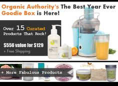 This Goodie Box will keep you looking and feeling amazing. These 12 brands will keep you smiling all the way through to next year and beyond. This box is worth more than $556! But it's all yours for just $129 + free shipping. http://www.organicauthority.com/the-best-year-ever-goodie-box-is-here/ @atharapure @fusionlifebrand @wondercurl @dermae @juicebeauty @purggo @manitobaharvest @gratefultoyou