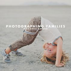 photographing families, family pictures