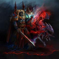 chaos inkary(arkeeva) night_lords space_marines sword terminator