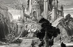 It's Nice That : Stunning fantasy illustrations from scratchboard artist Nicolas Delort