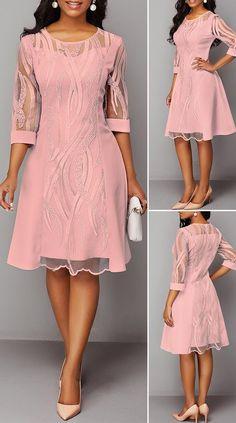 Frock Fashion, Fashion Mode, Women's Fashion Dresses, Elegant Dresses, Cute Dresses, Casual Dresses, Short Dresses, Beautiful Dresses, African Wear Dresses
