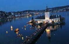 Schlösser Advent- Gmunden, Austria Gmunden Austria, Wanderlust Travel, River, Advent, Outdoor, Pictures, Places, Outdoors, Wanderlust