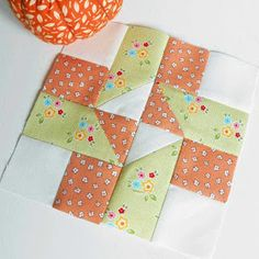 Block 78 - Old Maid  Another week and more Farmer's Wife blocks. The blocks for the Very Kerry Berry sew-along were .... B...