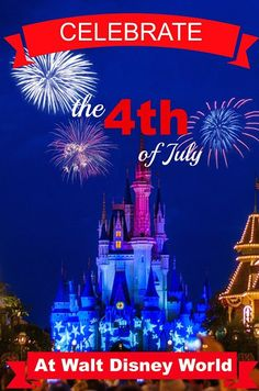 4th of july at walt disney world