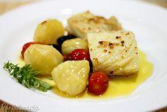 Bacalhau Confitado ~ PANELATERAPIA - Blog de Culinária, Gastronomia e Receitas