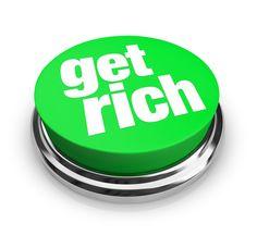Get-Rich-Quick scheme money wealth finance stock photography - green Ways To Get Rich, Get Rich Quick, How To Become Rich, Ways To Earn Money, Way To Make Money, Make Money Online, How To Make, Actions Speak Louder Than Words, Internet Marketing