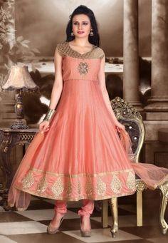 Anarkali Suit in Peach