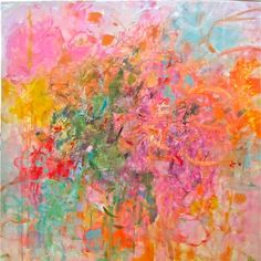 "Saatchi Online Artist: Sandy Welch; Mixed Media, 2013, Painting ""SPRING"""
