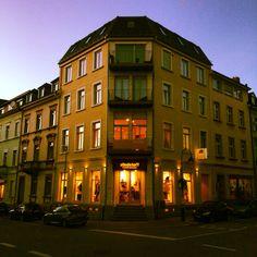 Abendstimmung Moltkestr Ecke Belfortstr....