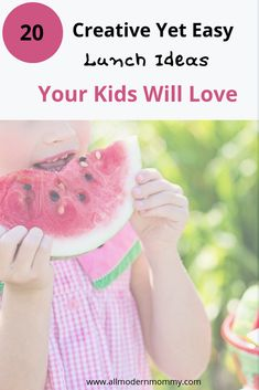 We all run out of ideas to make creative food our kids will actually eat and love.Browse 20 Surprisingly Easy Lunch Ideas Kids w List Of Sandwiches, Easy Lunches For Kids, Easy Family Dinners, School Snacks, Kids Health, Picky Eaters, Lunch Ideas, Dinner Ideas, Our Kids