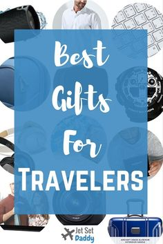 Want the BEST gifts for travelers? This list is brand new for 2017 & has the best gifts for travelers no matter who there are or what your budget. Click here to find the best gifts for travelers 2017: http://www.jetsetdaddy.com/best-gifts-for-travelers-2017