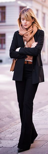 Camel Scarf Inspiration Outfit