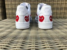 So my sup x cdg x Nike Air Force 1 lows came factory flawed