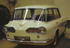 1957 Renault 600 (project model)