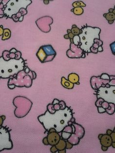 Pink Hello Kitty Boppy Cover, Baby Girl, Nursing Pillow Cover