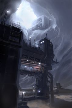 ArtStation - Hidden Industry, sparth .