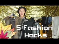 5 FASHION HERBST HACKS I Herbst Hacks Reihe I by morfashion - YouTube #fashion #hacks #herbst #fall