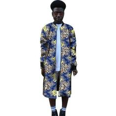 Man Dashiki Dust Coat African – coats formal – F.A Premium African Attire Trench Coat – Men African Dresses Online, African Clothing For Sale, Modern African Clothing, African Shirts For Men, African Attire For Men, African Print Dresses, Dashiki Shirt Mens, Dashiki For Men, African Dashiki