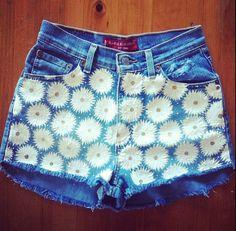 Daisy High Waisted Levi's Shorts