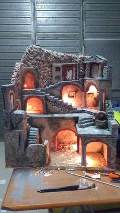 Hobbies Unlimited Portland Or Atrapa, Dioramas, Rzemiosło Christmas Crib Ideas, Christmas Home, Christmas Crafts, Christmas Decorations, Wooden Dollhouse, Miniature Dollhouse, Christmas Nativity Scene, Free To Use Images, Modelos 3d