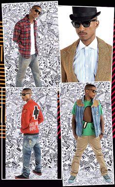 Billionare Boys club Pharell Williams collage Billionaire Boys Club ac0685ce77a0