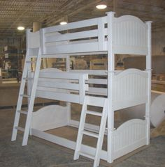 Triple Bunk Beds -Just in case number four happens!
