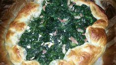 Torta rustica spinaci e pancetta