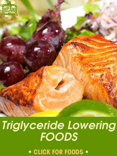 Learn about the Triglyceride Foods you need in your diet that will help you to bring your numbers down, like black beans, spinach and grapes. Tryglicerides Diet, Dr Oz Diet, Paleo Diet Weight Loss, Heart Healthy Recipes, Healthy Tips, Diet Recipes, Healthy Eating, Healthy Foods, Cholesterol Lowering Foods