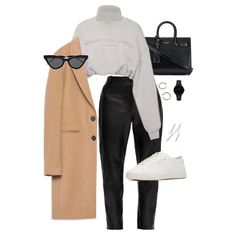 Classy Work Outfits, Business Casual Outfits, Pretty Outfits, Stylish Outfits, Cool Outfits, Girls Fashion Clothes, Fashion Outfits, Outfit Invierno, Korean Fashion Winter
