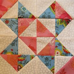 Block of the Month 2013 #14 free pattern on The Quilt Ladies at http://www.thequiltladies.com/2013/07/block-of-month-14.html