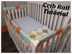 Definitely making this since Landon ate his bed.  Create a Cute Crib Rail Tutorial >> DIY