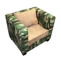 Manhatten Chair Cammo Green