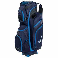 Nike Golf M9 II Cart Bag 2013 - Blackend Blue/White-Photo Blue