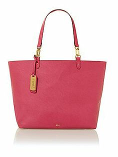 Ralph Lauren Bembridge pink tote bag d1c54595d95b2
